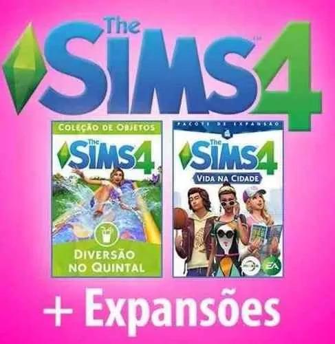 The Sims 4 + Todas Expansões E Pacotes 2017 (envio Na Hora)