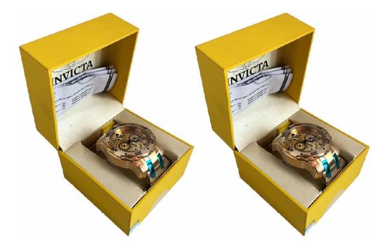 Relógio Invicta Pro Diver 0074 Original 2 Unidades Top