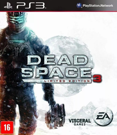 Dead Space 3 Limited Edition - Play 3 - Original - Lacrado