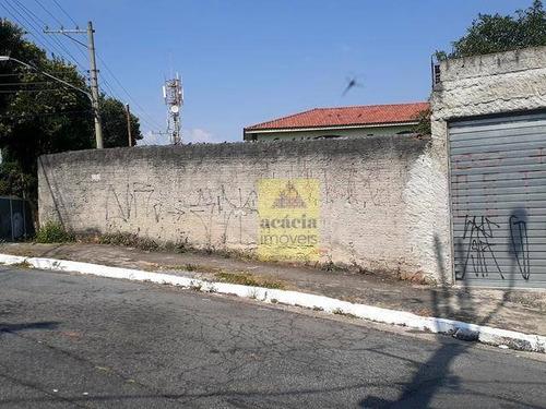 Imagem 1 de 6 de Terreno À Venda Por R$ 424.000,00 - Vila Pereira Barreto - São Paulo/sp - Te0288
