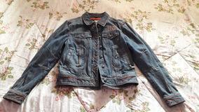 Jaqueta Jeans Feminina Harley Davidson