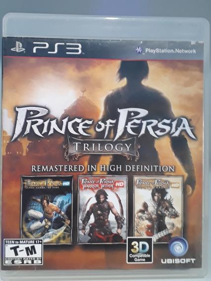Prince Of Persia Trilogy 3 Jogos Em Um!Ps3(usado)