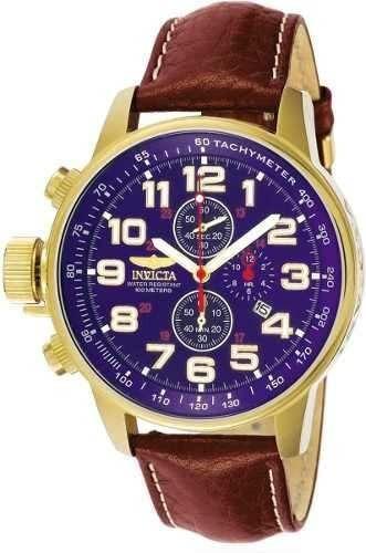 Relógio Invicta 3329 Force Collection Banhado 18k A Ouro
