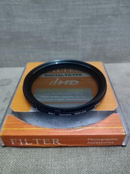 Filtro Nd-67mm Variável Ótimo Estado Greika