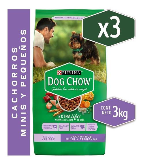 Pack Dog Chow® Cachorros Razas Pequeñas 3 Kg