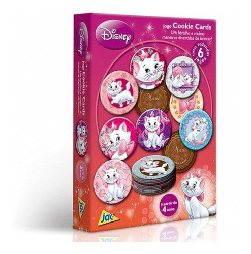 Jogo Cookie Cards Marie Disney Toyster 1785
