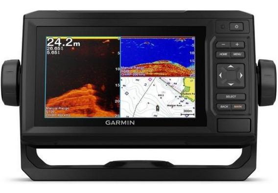 Gps Garmin Echomap 62cv Plus Com Transdutor E Carta Nautica 010-01888-01 Autorizada Garmin