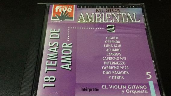 Musica Ambiental - 18 Temas De Amor - Cd Nuevo Cerrado