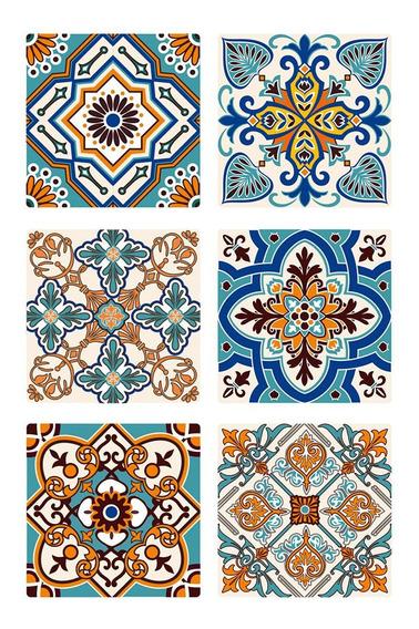 Azulejo Autoadhesivo Muresco 6unidades 15x15