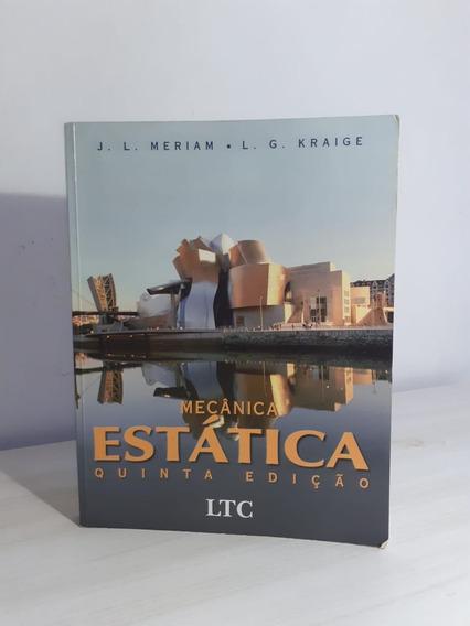Mecânica Estática Quinta Edição J.l. Meriam