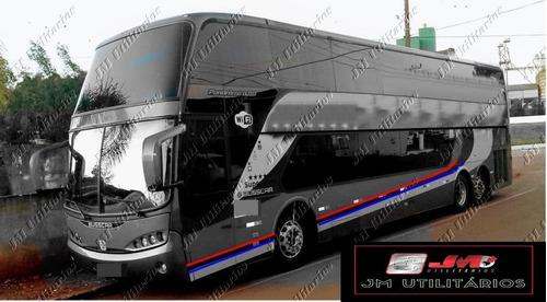 Imagem 1 de 10 de Busscar Dd Panoramico Ano 2006 Volvo B12 R 52 Lug Jm Cod.27