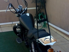 Vendo Ou Troco Chopper Honda 350cc - The Black