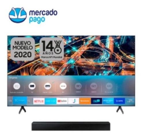 Combo Samsung 55tu6900+barra De Sonido