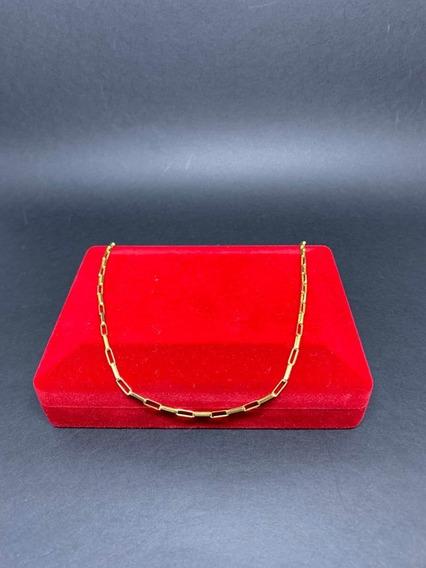Corrente Cartier Em Ouro 18k 3,45 Gramas