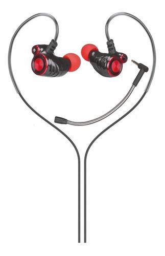 Imagen 1 de 6 de Auricular Hp Dhe-7002 In Ear Con Micrófono Desmontable