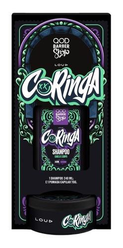 Imagem 1 de 6 de Qod Loud   Kit Coringa   Shampoo 230ml + Pomada Capilar 70g