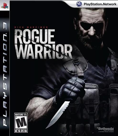 Jogo Rogue Warrior Ps3 Original Lacrado