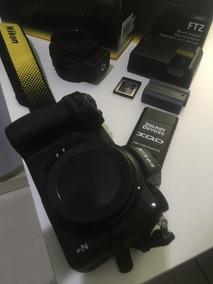 Nikon Z6 + Ftz Adaptador + Bateria Extra + Cartão 32gb Xqd