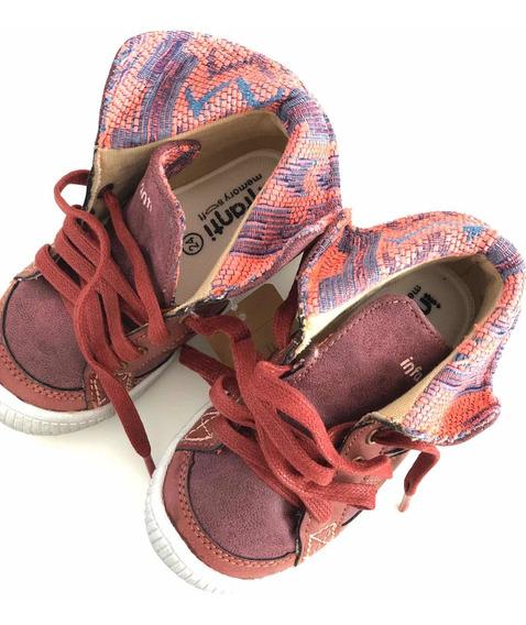 Zapatillas Tipo Botitas Talle 24 Infanti Importadas