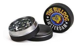 Grinder Black 3p Molino The Bulldog Metal /caja De12 Piezas
