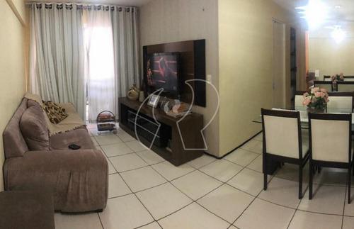 Imagem 1 de 17 de Apartamento Com 3 Dormitórios À Venda, 64 M² Por R$ 335.000,00 - Vila Ellery - Fortaleza/ce - Ap2408