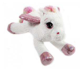 Muñeco Peluche Gran Tamaño 80cm Pegasus Blanco Oferta