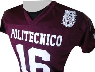 Jersey Del Politécnico (personalizable En Nombre Y Numero)