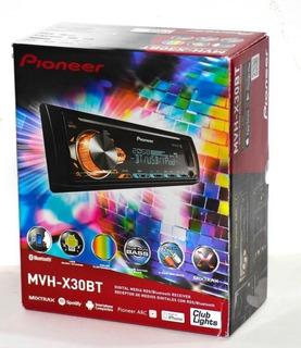 Estéreo Pioneer Mvh-x30bt Spotify Bluetooth Mp3 Usb