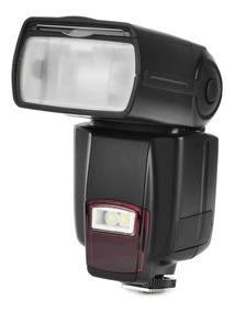 Flash Speedlite Universal Para Cânone / Nikon - Preto
