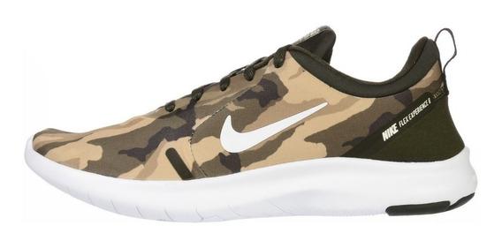 Zapatillas Nike Flex Experience Rn 8 Camuflaje Para Hombre