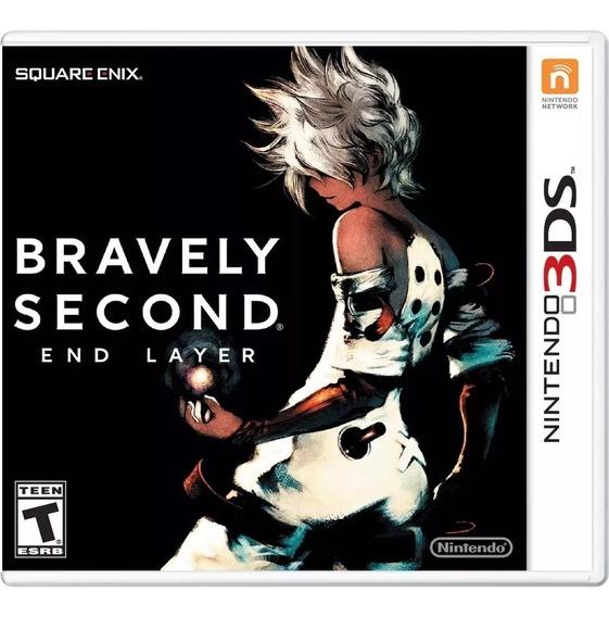 Bravely Second : End Layer Mídia Física Lacrado - 3ds