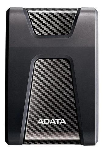 Imagen 1 de 3 de Disco duro externo Adata DashDrive Durable HD650 AHD650-1TU3 1TB negro