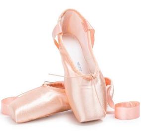 Zapatillas De Ballet - Puntilla T/31-42 + Siliconas Punteras