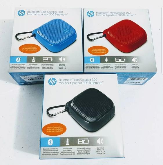 Caixa De Som Bluetooth Hp Speaker 300 Preto/vermelho/azul