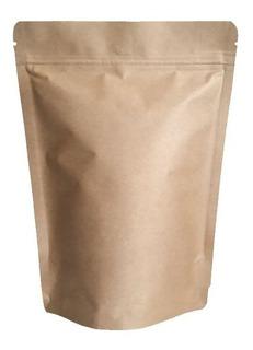 Embalagem Café Kraft 250 Grs Valvuladas- 10 Unidades