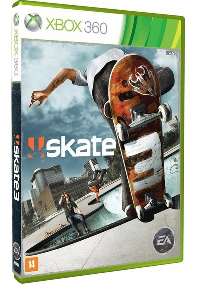 Skate 3 - Xbox 360 - Novo - Mídia Física Lacrado