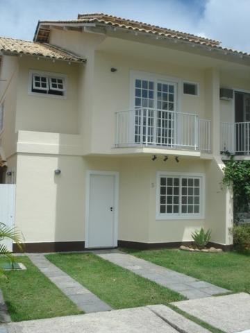 Casa Duplex 3 Quartos Em Condomínio - Ca0444
