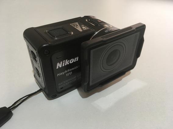 Nikon Keymission 170 + 2 Baterias Extras + Carregador