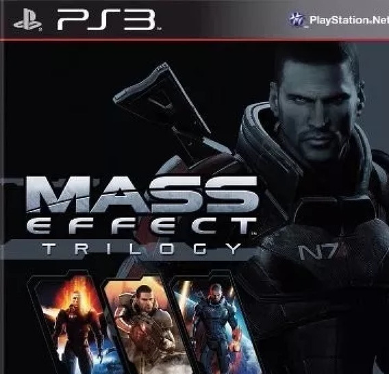 Mass Effect Trilogy - Ps3 (digital)