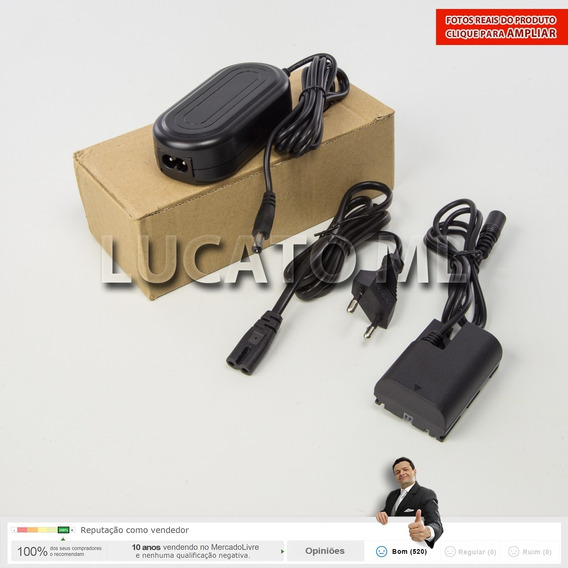 Fonte Eliminador Bateria P/ Canon 6d 5dmk2 Etc* 12x S/ Juros