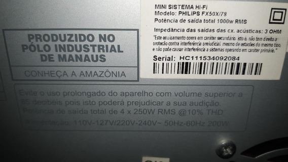 Tv Smart Philips 50pug6900/78 P/retir. Peça Display Quebrado