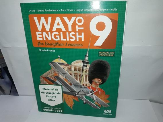 Livro Way To English 9 Manual Do Professor Claudio Franco