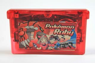 Pokemon Ruby Version Pocket Monsters Gba Gameboy Advance