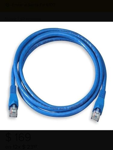 Cable De Red Utp 5 Metros Rj45 Cat 5e Ethernet, Marca Suono