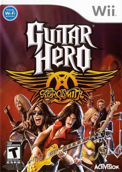 Game Wii Guitar Hero Aerosmith - Original - Reembalado