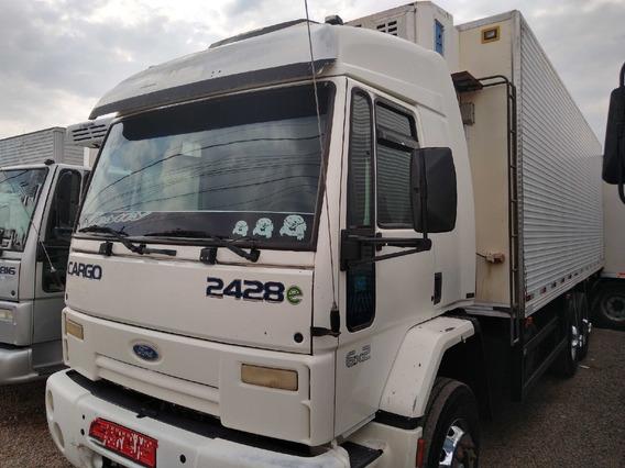 Cargo 2428/07/08 Branco Cabine Leito Bau Frigorifico