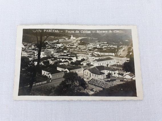 Cartão Postal Poços De Caldas Antigo Morais E Cia