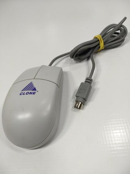 Antigo Mouse Clone Ps2 Computador Bolinha Pentium 100