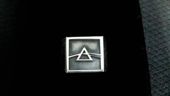 Anel Pink Floyd The Dark Side Of The Moon Prata 925 Maciço