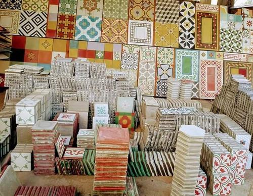 Mosaicos Calcáreos,lisos Y Con Dibujos